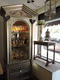 Ideas Design For Lighted Curio Cabinet Silver Leaf Lighted Curio Cabinet For Sale Antiques Com