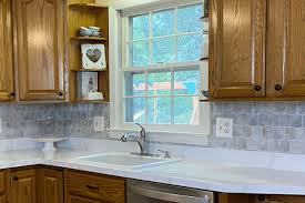 how to cut tile around cabinets peel and stick backsplash tiles everything you need to
