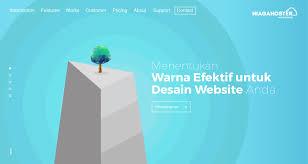 menentukan warna efektif untuk desain website anda tutorial