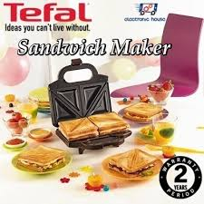 Tefal Sandwich Toaster Qoo10 Tefal Sm1551 Ultracompact Sandwich Maker 2 Years