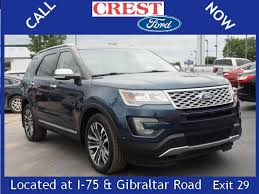 crest ford flat rock ford explorer flat rock 27 suv ford explorer used cars in flat