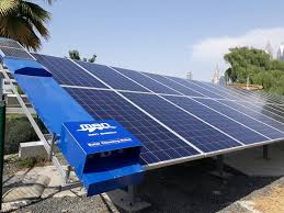 cleaning robots dubai municipality installs solar panel cleaning robots emirates