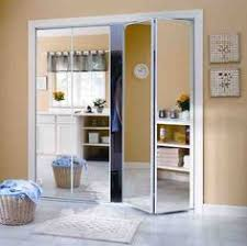 Sliding Glass Mirrored Closet Doors Create A New Look For Your Room With These Closet Door Ideas