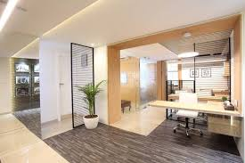 interior designer in indore vishal builders office designed by the interior designer milind