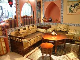 Moroccan Living Room Furniture View In Gallery Modern Moroccan - Moroccan living room furniture