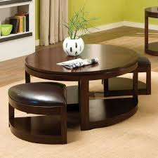 coffee table trends decoration round ottoman coffee table storage