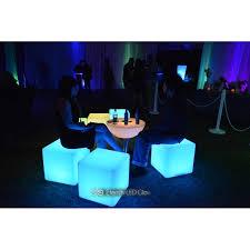 led cubes led cube seat light up glow cube chair eternity led