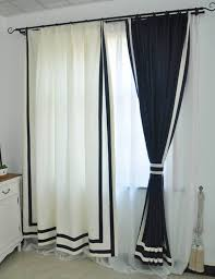 blue navy curtains with fresh sense for your living room stribal