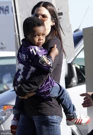 Watch Blind Side Online Sandra Bullock At The Super Bowl With Son Louis Sporting Baltimore