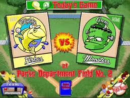 let u0027s play backyard baseball 1997 season game 7 mighty fishes vs