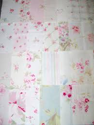 simply shabby chic roses quilt squares rachel ashwell 4 inch 24