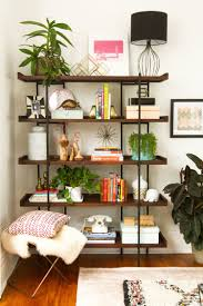 how to style bookshelves apartment therapy
