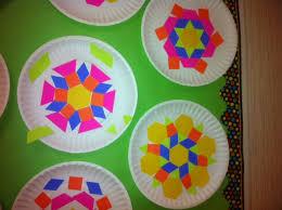 pattern blocks math activities pattern block plates math art grade 2 pattern blocks math and