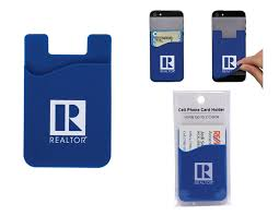 realtor itech cell phone card holder rts4563