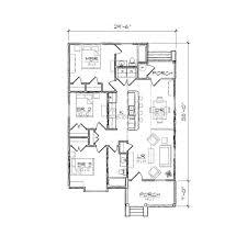 Bungalow Floor Plans Extraordinary Simple Bungalow Floor Plans 48 About Remodel Home