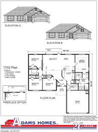 Breland Homes Floor Plans by Old Cahaba Adams Homes