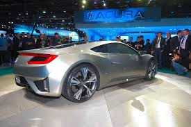 volkswagen sports car in avengers honda nsx hybrid supercar previewed by detroit concept photos 1