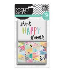 me my big ideas pocket pages journal elements themed cards joann