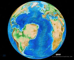 Stone Age World Map by Map Of How Earth Would Have Looked If Supercontinent Gondwana Had