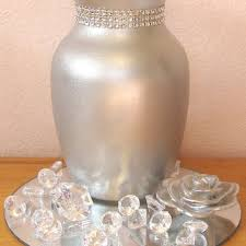 Silver Vases Wedding Centerpieces Best Rhinestones Centerpieces Products On Wanelo