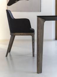 table bontempi versus extendable with wooden legs wood or glass top