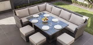 Modern Patio Dining Sets Moda Furnishings Antigua Corner Dining Set Modern Patio Outdoor