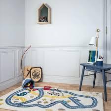 grand tapis chambre enfant grand tapis chambre enfant circuit bleu rectangle chambre bebe