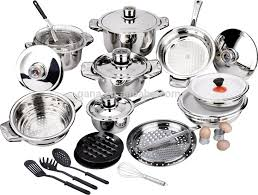 Swiss Induction Cooktop Swiss Line Stainless Steel 16pcs Cookware Sets Induction Pots