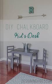 diy chalkboard top toddler desk designing vibes interior