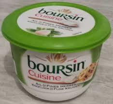 boursin cuisine ail et fines herbes cuisine ail fines herbes 19 mg boursin 240 g