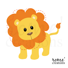 free baby lion clipart image 4897 cartoon lion clip art free