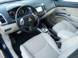 mitsubishi outlander interior review 2011 mitsubishi outlander gt the truth about cars