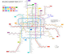 Red Line Metro Map Beijing Subway Map 2017 Latest Maps Of Beijing Subway And Stations