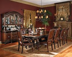 great large rustic dining room table and chair 21545