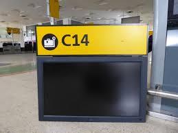 check in desk sign airport check in desk sign and monitor c14 price estimate