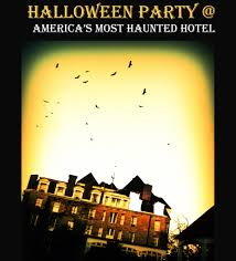 halloween party america u0027s most haunted hotel
