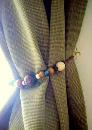 Diy Curtain Tiebacks Diy Beaded Tiebacks Diy Curtains Curtain Ties And Bedrooms