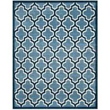Safavieh Indoor Outdoor Rugs Safavieh Indoor Outdoor Rugs Light Blue Navy 9 Ft X Ft Indoor