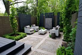 modern classic backyard in yorkville toronto http www