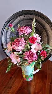 friendship mug in stevensville mt peacock floral