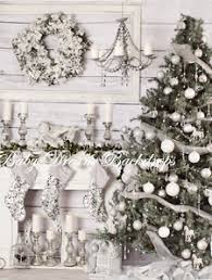 shabby chic christmas backdrops