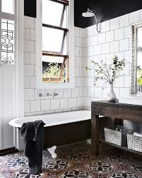 Modern Vintage Bathroom Best Vintage Bathroom Tiles Ideas On Pinterest Tiled Design 38