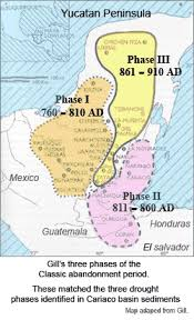 mayan empire map drought and the collapse of the civilisation causes and