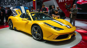 ferrari yellow 458 ferrari reveals 458 speciale a top gear