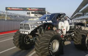 bigfoot electric monster truck world u0027s fastest monster truck raminator specs and pictures