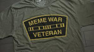 T Shirt Meme - meme war veteran logo t shirt
