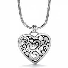 chain necklace heart images Contempo contempo heart necklace necklaces jpg