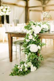floral garland picture of floral garland with hydrangea greenery and garden roses