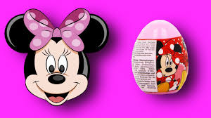 kinder minnie mouse easter egg surprises sweets daria