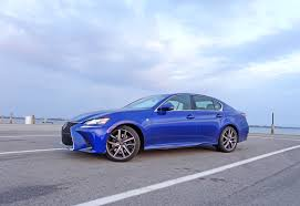 lexus sports car blue 2017 lexus gs 350 f sport review